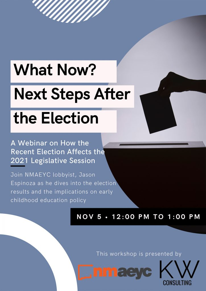 "A Flyer for the ""What Now?"" webinar"