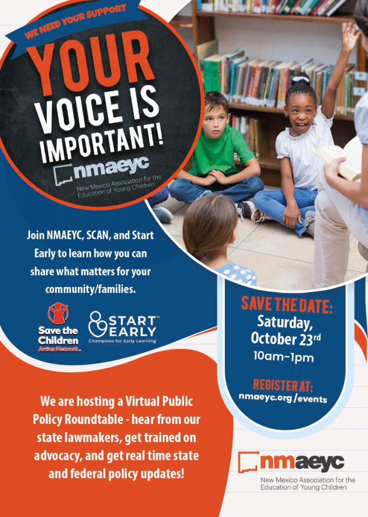 Virtual Public Policy Roundtable Flyer